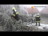 Austria ghiacciata, straordinarie immagini della calabrosa