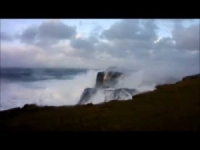 Tempesta Alexandra: onde giganti alle Shetland