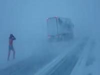 La tempesta Alexandra in Islanda: condizioni meteo estreme