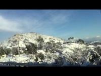 Neve nel Sud California, ecco un fantastico video