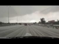 Neve in Libia. Il video da Tripoli!