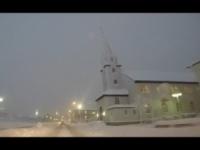 Islanda, nevica da giorni, che spettacolo!