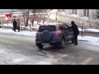 Vladivostok: la danza sul ghiaccio