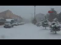 Caos a Istanbul per la tempesta di neve. VIDEO TG