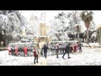 Puglia, è arrivata la neve! VIDEO