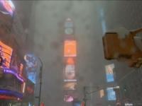 Snowzilla a Times Square