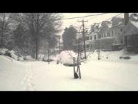 La tempesta di neve Jonas su Washington DC