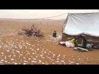 Grandine o neve nel deserto del Kuwait? VIDEO del fenomeno