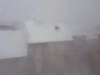 Sicilia montana, blizzard con 1 metro di neve