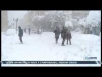 Campobasso sepolta dalla neve!