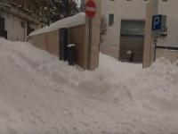 Santeramo in Colle, nel barese, sepolto dalla neve. Arriva esercito