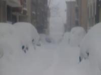 Super neve Istanbul: in alcune zone della città oltre 70 cm!