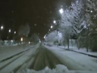 Cosenza... Quanta neve nella notte!