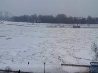 Danubio ormai ghiacciato