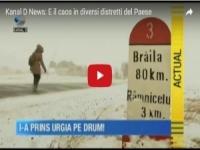 Romania nel caos per le tempeste di neve
