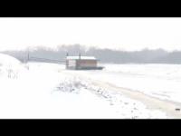 Serbia nella morsa del ghiaccio: paesaggi spettrali lungo il Danubio