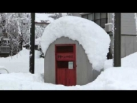 Nord del Giappone sepolto dalla neve