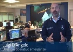 Italia, servizio antiincendio coordinato Protezione Civile, siamo all'avanguardia. Video
