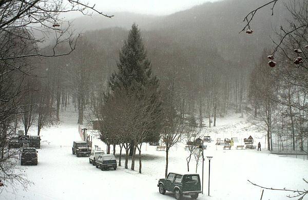 immagine 2 del capitolo 1 del reportage neve su parte del centro nord arretra il freddo domani incombe aria piu mite