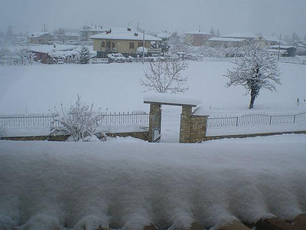 immagine 2 del capitolo 1 del reportage maltempo con neve e pioggia sul nord volano le temperature al sud