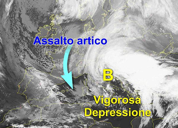 immagine 1 del capitolo 1 del reportage vortice ciclonico ma fervono i preparativi per l arrivo del nucleo artico