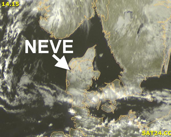 immagine 2 del capitolo 1 del reportage sguardo dal satellite ad alcune zone innevate europee in attesa della discesa artica