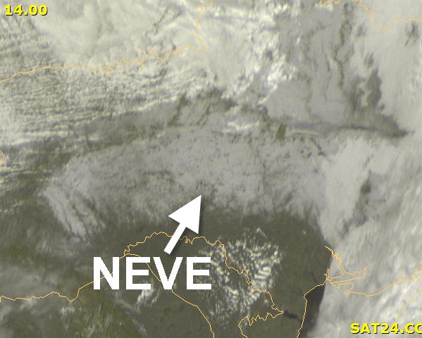 immagine 3 del capitolo 1 del reportage sguardo dal satellite ad alcune zone innevate europee in attesa della discesa artica