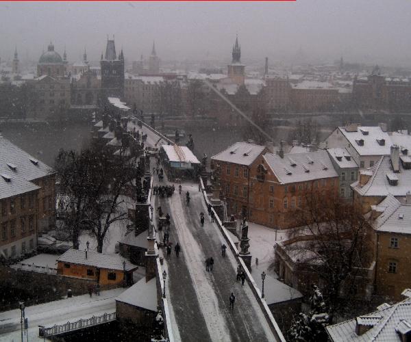 immagine 2 del capitolo 1 del reportage molta neve sul cuore dell europa per un nucleo freddo ed instabile