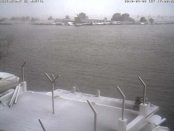 immagine 1 del capitolo 1 del reportage eccezionali nevicate sul sud della francia e su barcellona