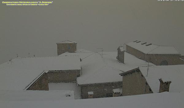 immagine 1 del capitolo 1 del reportage neve a bassa quota sul centro italia mix esplosivo grazie al freddo da est