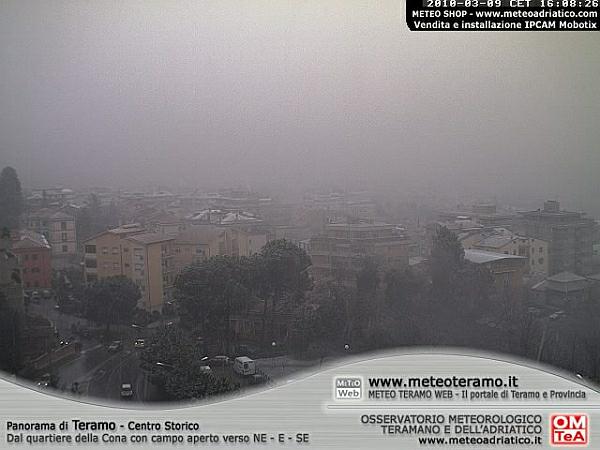 immagine 3 del capitolo 1 del reportage neve a bassa quota sul centro italia mix esplosivo grazie al freddo da est