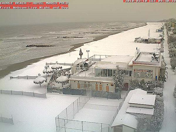 immagine 2 del capitolo 1 del reportage maltempo super nord sotto bufere di neve la bora sferza trieste