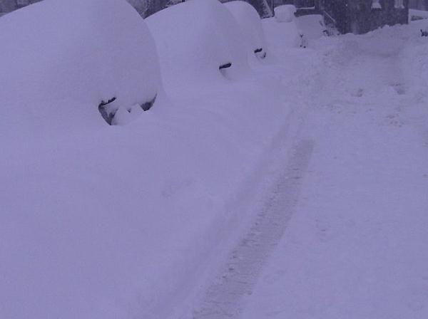 immagine 1 del capitolo 1 del reportage grande neve in corsica apoteosi bianca sulle zone del centro nord