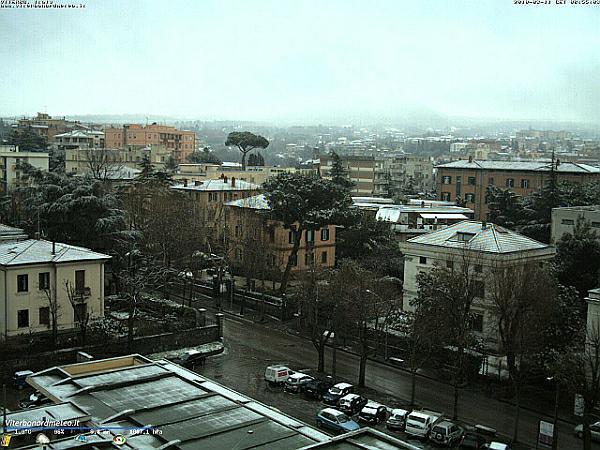 immagine 2 del capitolo 1 del reportage neve a bassa quota sul centro e sulla sardegna i bianchissimi scenari invernali dal nord italia