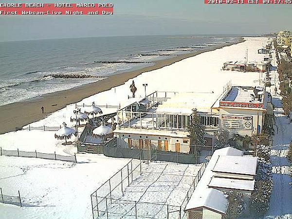 immagine 4 del capitolo 1 del reportage neve a bassa quota sul centro e sulla sardegna i bianchissimi scenari invernali dal nord italia