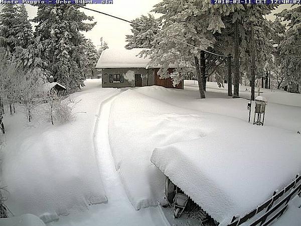 immagine 5 del capitolo 1 del reportage neve a bassa quota sul centro e sulla sardegna i bianchissimi scenari invernali dal nord italia