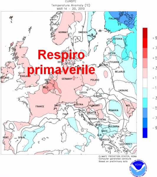 immagine 1 del capitolo 1 del reportage cambio stagionale sull europa continentale dal gelo alla primavera