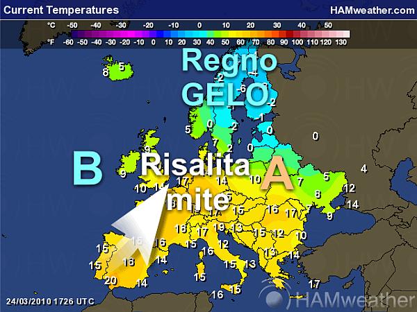immagine 2 del capitolo 1 del reportage clima gradevole su gran parte d europa avanza una depressione da ovest