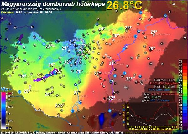 Vortice instabile sul centro europa ungheria come il - Mappa di ungheria ed europa ...