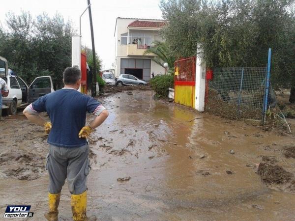 immagine 1 del capitolo 1 del reportage alluvione lampo tra puglia e basilicata colpita ginosa
