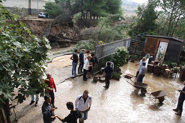 immagine 2 del capitolo 1 del reportage alluvione lampo tra puglia e basilicata colpita ginosa