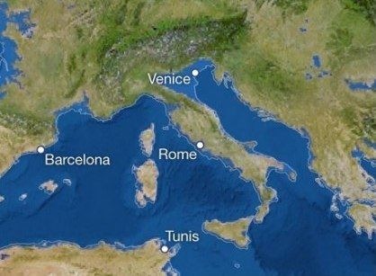 Come sarebbe l 39 italia se si sciogliessero tutti i ghiacci for Ponte delle cabine di rapsodia dei mari 2
