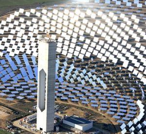 Il progetto desertec l 39 energia dai deserti problemi tecnici economici e geopolitici - Centrale solare a specchi ...