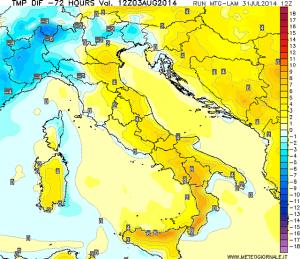 immagine news caldo-week-end-ecco-dove-la-temperatura-sale-maggiormente
