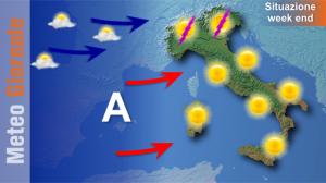 immagine news week-end-con-molto-sole-ma-al-nord-ci-sara-qualche-temporale