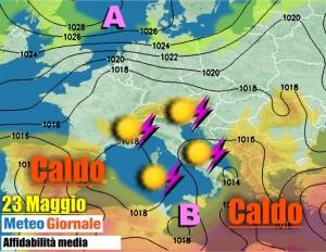 immagine news meteo-che-migliora-temporali-residui-poi-caldo-estivo