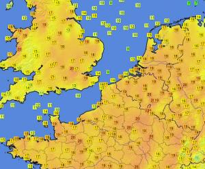 immagine news pioggia-di-record-di-caldo-meteo-folle-in-mezza-europa