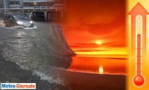 immagine news meteo autunnale piogge al nord mite al sud i motivi