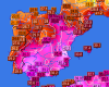 Caldo estremo nell'est della Spagna, 42 gradi a Valencia