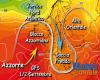 Settembre: Goccia Fredda colpirà il Centro-Sud